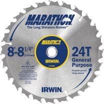 "Irwin 14050ZR 8-1/4"" 24 Teeth Per Inch Universal Arbor Blade"
