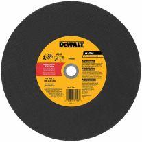 """Dewalt DW8020 14"""" x 1/8"""" A24R Metal Cutting Wheel"""