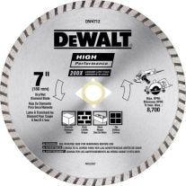 "Dewalt DW4712 7"" Diamond SegmentedCircular Blade"